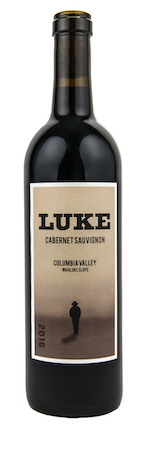 luke wines cabernet sauvignon 2016 bottle - Luke Wines 2016 Cabernet Sauvignon, Wahluke Slope $25