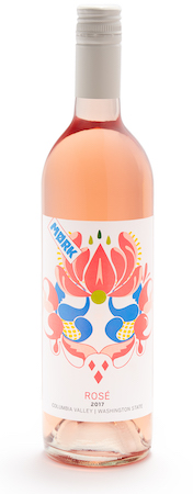 mork wines rose 2017 bottle - Mork Wines 2017 Rosé, Columbia Valley $13