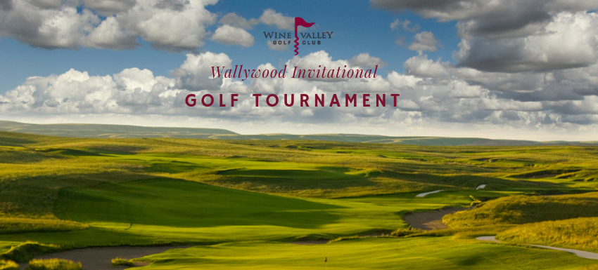 wallywood invitational golf tournament poster - Wallywood Invitational Golf Tournament for Blue Mountain Humane Society