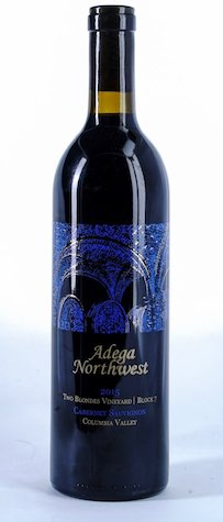 adega northwest cabernet sauvignon two blondes 2015 bottle - Adega Northwest 2015 Two Blondes Vineyard Block 7 Cabernet Sauvignon, Columbia Valley $36