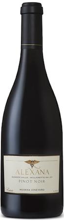 alexana winery fennwood vineyard pinot noir nv bottle 1 - Alexana Winery 2016 Fennwood Vineyard Pinot Noir, Yamhill-Carlton $65