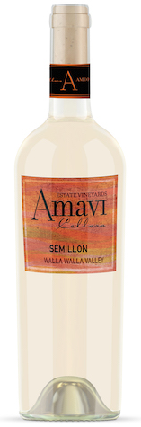 amavi cellars estate semillon nv bottle - Amavi Cellars 2017 Estate Vineyards Sèmillon, Walla Walla Valley $24