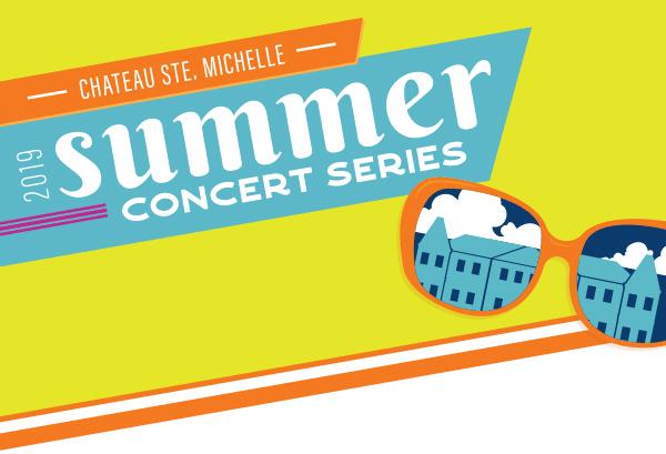 chateau ste michelle summer concert series 2019 poster 1 - Ste. Michelle books 27 shows for Summer Concert Series