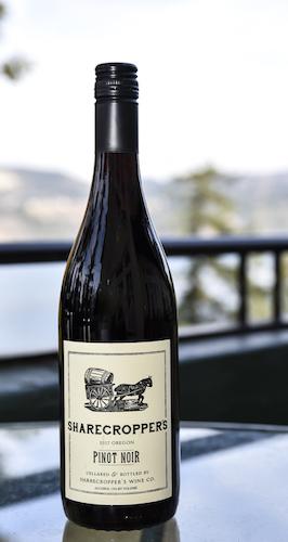owen roe sharecroppers pinot noir 2017 bottle GWI 2018 - Sharecropper's Wine Co. 2017 Pinot Noir, Willamette Valley, $16