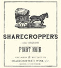 sharecroppers wine co pinot noir 2017 label 120x134 - Sharecropper's Wine Co. 2017 Pinot Noir, Willamette Valley, $16