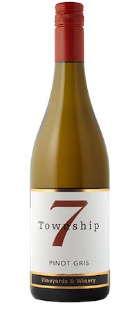 township 7 pinot gris nv bottle - Township 7 Vineyards & Winery 2017 Pinot Gris, Okanagan Valley $19