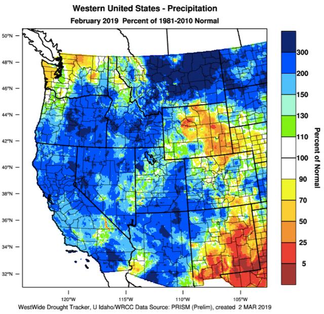 western-united-states-mean-precipitation-february-2019-2
