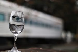 Wine Glass at Wine Train Silverbullet 300x200 - Snoqualmie Valley Wine Train Excursion