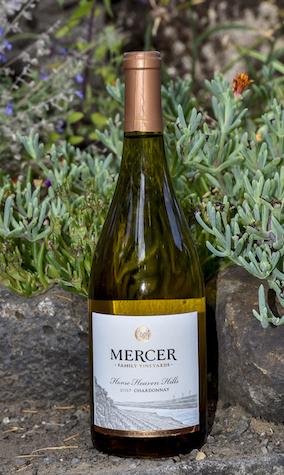 mercer family vineyards chardonnay 2017 bottle GNWI 2018 - Mercer Family Vineyards 2017 Chardonnay, Horse Heaven Hills $13