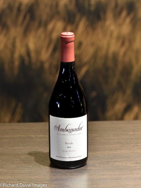 ambassador wines washington estate syrah 2016 cascadia bottle - Ambassador Wines of Washington 2016 Estate Grown Syrah, Red Mountain, $35