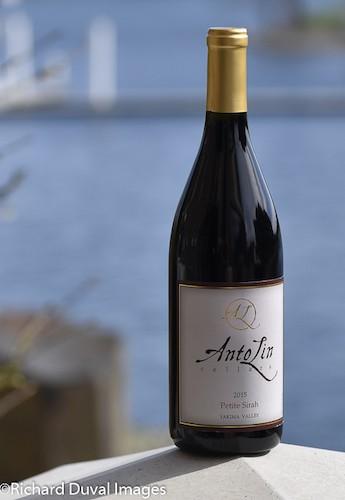 antolin cellars petite sirah 2015 bottle cascadia - AntoLin Cellars 2015 Petite Sirah, Yakima Valley, $30