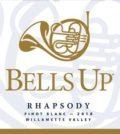 bells up winery rhapsody pinot blanc 2018 label 120x134 - Bells Up Winery 2018 Rhapsody Pinot Blanc, Willamette Valley $28