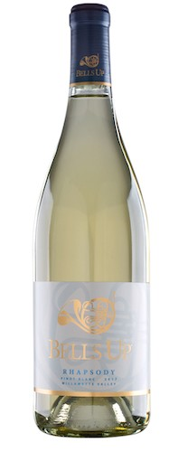 bells up winery rhapsody pinot blanc nv bottle - Bells Up Winery 2018 Rhapsody Pinot Blanc, Willamette Valley $28