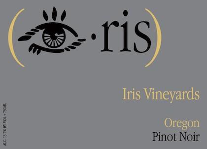 Iris Vineyards 2015 Oregon Pinot Noir, Willamette Valley, $24