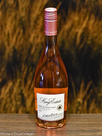 king estate pinot noir rose 2018 bottle - King Estate 2018 Rosé of Pinot Noir, Willamette Valley, $20