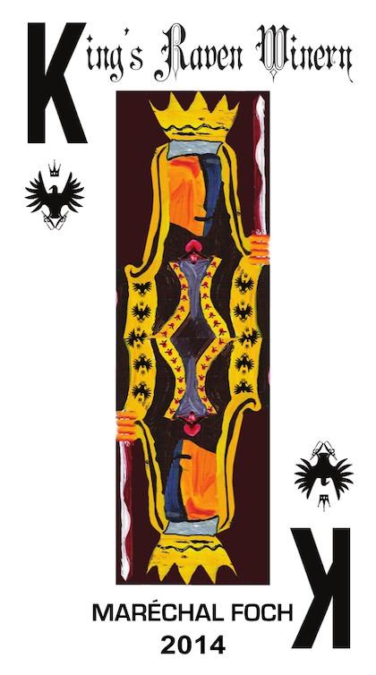 kings raven winery marechal foch 2014 label - King's Raven Winery 2014 Epyllion Vineyard Maréchal Foch, Willamette Valley $30
