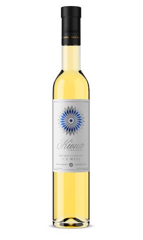 kiona vineyards winery estate chenin blanc icewine 2018 bottle - Kiona Vineyards & Winery 2018 Chenin Blanc Ice Wine, Red Mountain, $50