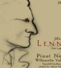 lenne estate jill 115 pinot noir 2016 label 120x134 - Lenné Estate 2016 Jill's 115 Pinot Noir, Yamhill-Carlton, $55