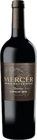 mercer estates cavalie reserve red blend 2016 bottle - Mercer Estates Winery 2016 Reserve Cavalie Red Blend, Horse Heaven Hills, $42