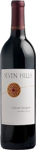 seven hills winery cabernet sauvignon columbia valley nv bottle - Seven Hills Winery 2015 Cabernet Sauvignon, Columbia Valley, $30