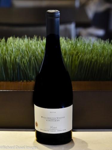 willamette valley vineyards estate pinot noir 2016 bottle cascadia - Willamette Valley Vineyards 2016 Estate Pinot Noir, Willamette Valley, $32
