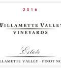 williamette valley vineyards estate 2016 label 120x134 - Willamette Valley Vineyards 2016 Estate Pinot Noir, Willamette Valley, $32