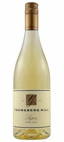 youngberg hill aspen pinot gris nv bottle - Youngberg Hill Vineyards 2018 Aspen Pinot Gris, Willamette Valley $30
