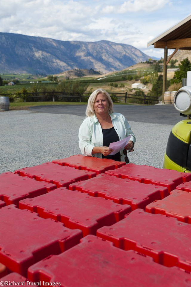 judy phelps feature richard duval images - Apples to grapes: The path to the Lake Chelan AVA