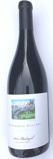 northwest cellars madrigal 2014 bottle - Northwest Cellars 2014 Madrigal Red Wine, Columbia Valley $28