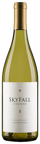 skyfall vineyard chardonnay nv bottle - Skyfall Vineyard 2017 Chardonnay, Columbia Valley $10