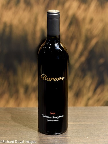 barons winery cabernet sauvignon 2014 bottle cascadia - Barons Winery 2014 Cabernet Sauvignon, Red Mountain, $45