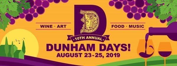 dunham days poster 2019 - Dunham Days! Weekend