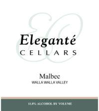 elegante cellars malbec nv label 1 199x223 - Eleganté Cellars 2014 Malbec, Walla Walla Valley $36