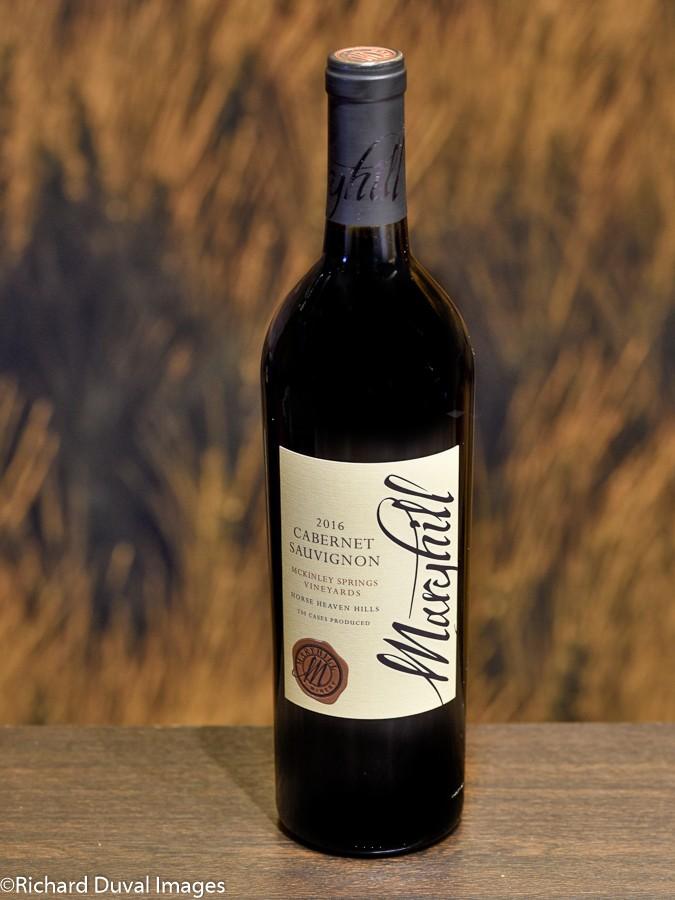 maryhill winery mckinley springs vineyard cabernet sauvignon 2016 bottle cascadia - Maryhill Winery 2016 McKinley Springs Vineyards Cabernet Sauvignon, Horse Heaven Hills $46