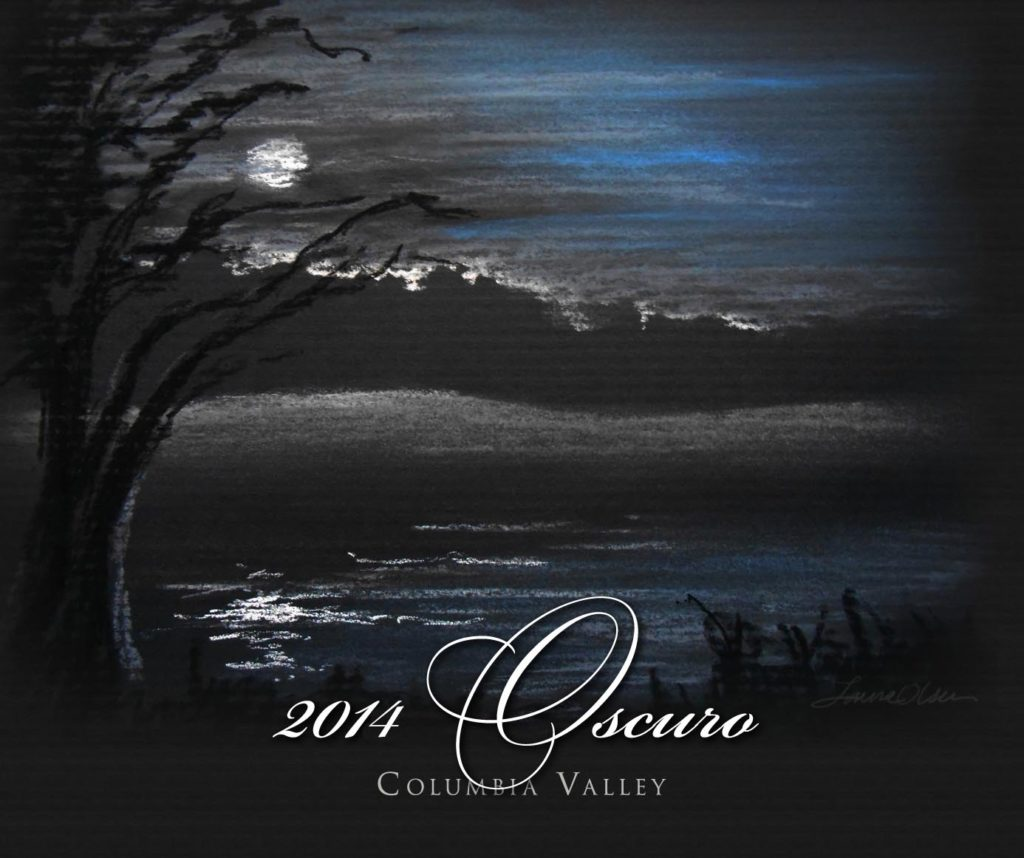 northwest cellars oscuro red wine 2014 label 1024x858 - Northwest Cellars 2014 Oscuro Red Wine, Columbia Valley, $56
