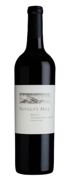 novelty hill stillwater creek vineyard merlot nv bottle - Novelty Hill 2016 Stillwater Creek Vineyard Merlot, Columbia Valley, $28