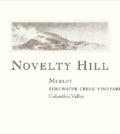 novelty hill stillwater creek vineyard merlot nv label 120x134 - Novelty Hill 2016 Stillwater Creek Vineyard Merlot, Columbia Valley, $28