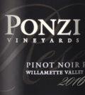 ponzi vineyards pinot noir reserve 2016 label 120x134 - Ponzi Vineyards 2016 Pinot Noir Reserve, Willamette Valley, $65