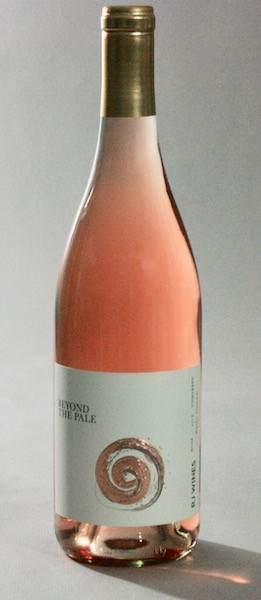 rj wines beyond the pale rose–2018 bottle - RJ Wines 2018 Boushey Vineyards Beyond the Pale Syrah Rosé, Yakima Valley, $20