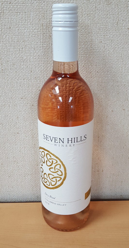 seven hills winery dry rose 2018 bottle 533x1024 - Seven Hills Winery 2018 Dry Rosé, Columbia Valley, $18