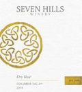 seven hills winery dry rose 2018 label 120x134 - Seven Hills Winery 2018 Dry Rosé, Columbia Valley, $18