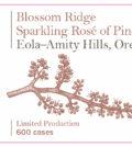 sokol blosser blossom ridge sparkling rose pinot noir 2015 label 120x134 - Sokol Blosser Winery 2015 Blossom Ridge Sparkling Rosé of Pinot Noir, Eola-Amity Hills, $60