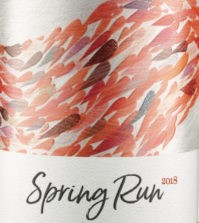 spring run rose 2018 label 199x223 - Spring Run 2018 Stillwater Creek Vineyard Rosé, Columbia Valley, $18