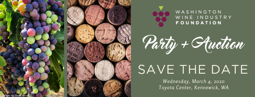 Save the Date PA 2020 FINAL - Washington Wine Industry Foundation 2020 Party + Auction