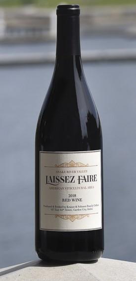 cinder wines laissez faire 2018 red wine cascadia 1 - Laissez Faire 2018 Red Table Wine, Snake River Valley, $18