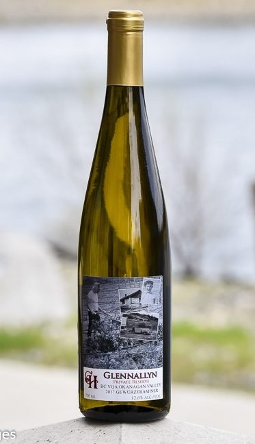 crescent hill winery glennallyn private reserve gewurztraminer 2017 bottle 1 e1565694919571 - Crescent Hill Winery 2017 Glennallyn Private Reserve Gewürztraminer, Okanagan Valley, $21