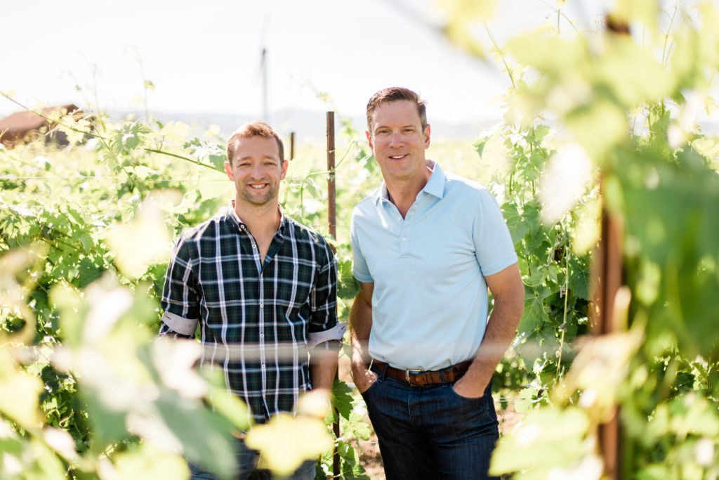 josh mcdaniels drew bledsoe doubleback winery 2019 justin yax dva agency 1024x683 - Bledsoe Family Winery set to open tasting room in Oregon
