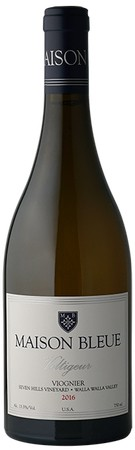 maison bleue winery seven hills vineyard voltigeur viognier 2016 bottle 1 - Maison Bleue Winery 2016 Seven Hills Vineyard Voltigeur Viognier, Walla Walla Valley $40