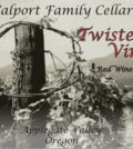 walport family cellars twisted vines red wine nv label 120x134 - Walport Family Cellars NV Twisted Vines Red Wine, Applegate Valley, $35