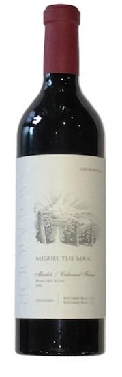 wines of sagemoor weinbau vineyard miguel the man merlot cabernet franc 2016 bottle - Wines of Sagemoor 2016 Weinbau Vineyard Miguel the Man Limited Release Merlot/Cabernet Franc, Wahluke Slope, $50